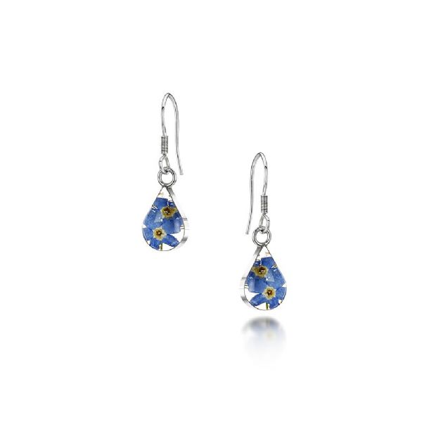 Silver Forget Me Not Earrings